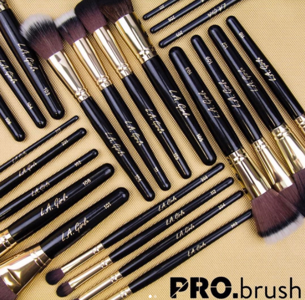 LA Girl: PROBrush Collection | First Look + Details
