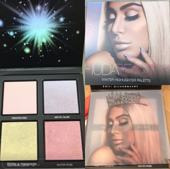 Huda Beauty: Winter Solstice Highlighter