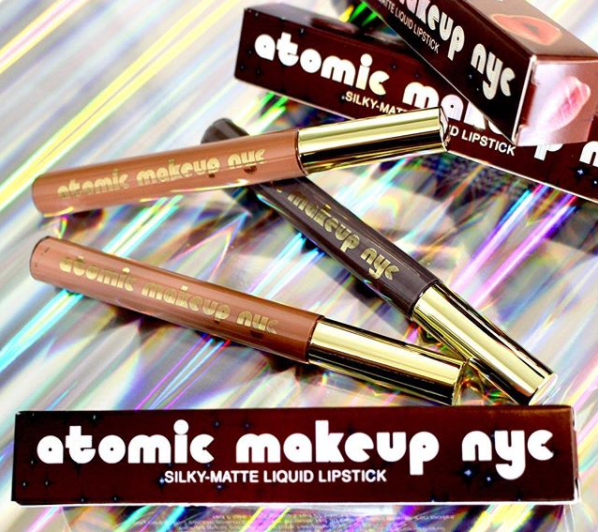 Atomic Makeup: Three New City Liquid Lipsticks